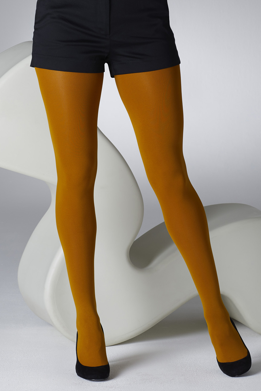 100 Denier Tights Mustard
