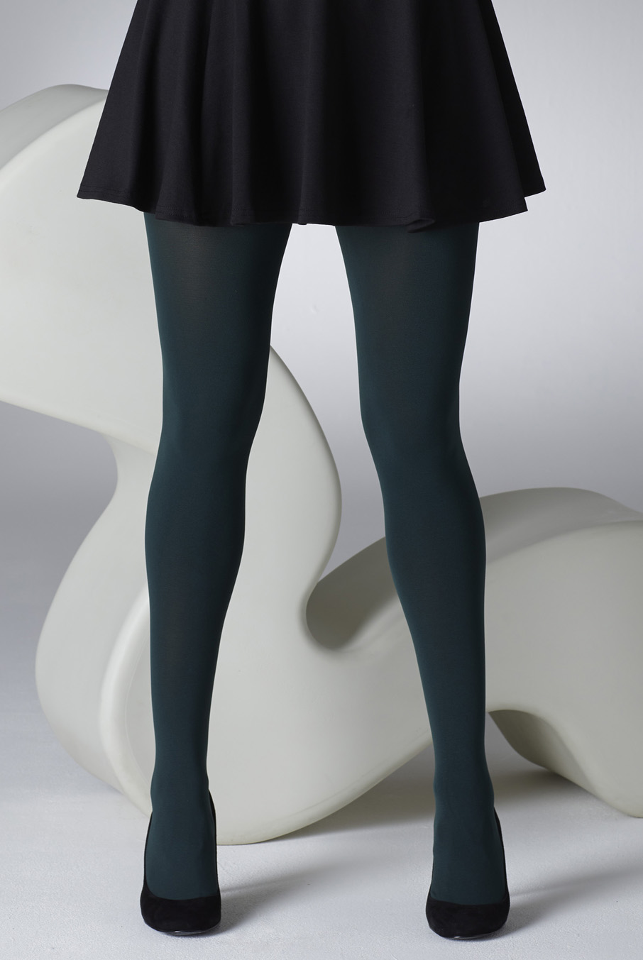 100 Denier Tights Pine