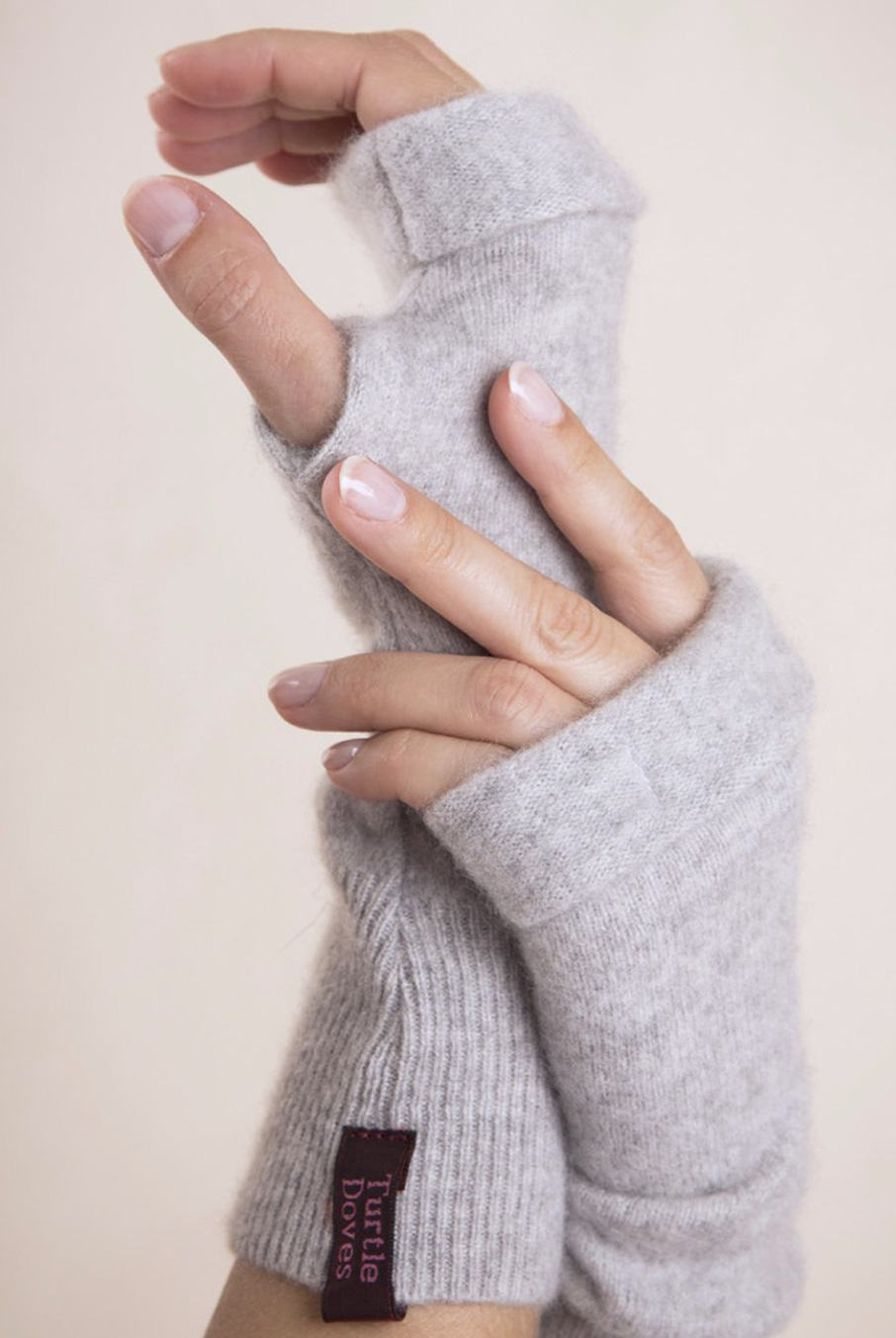 Cashmere Fingerless Gloves | Nomads Clothing