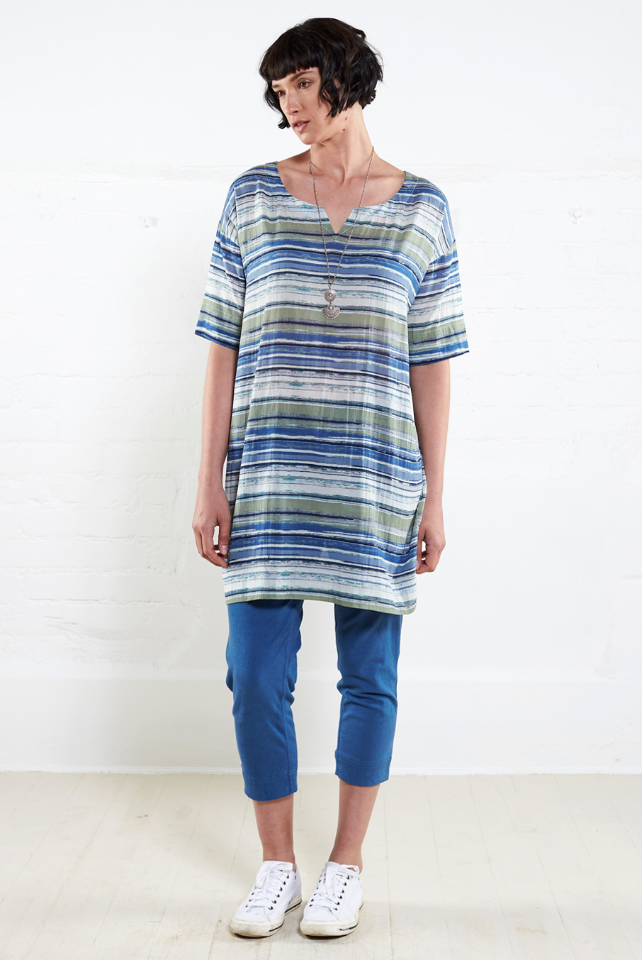 Striped Slouch Tunic
