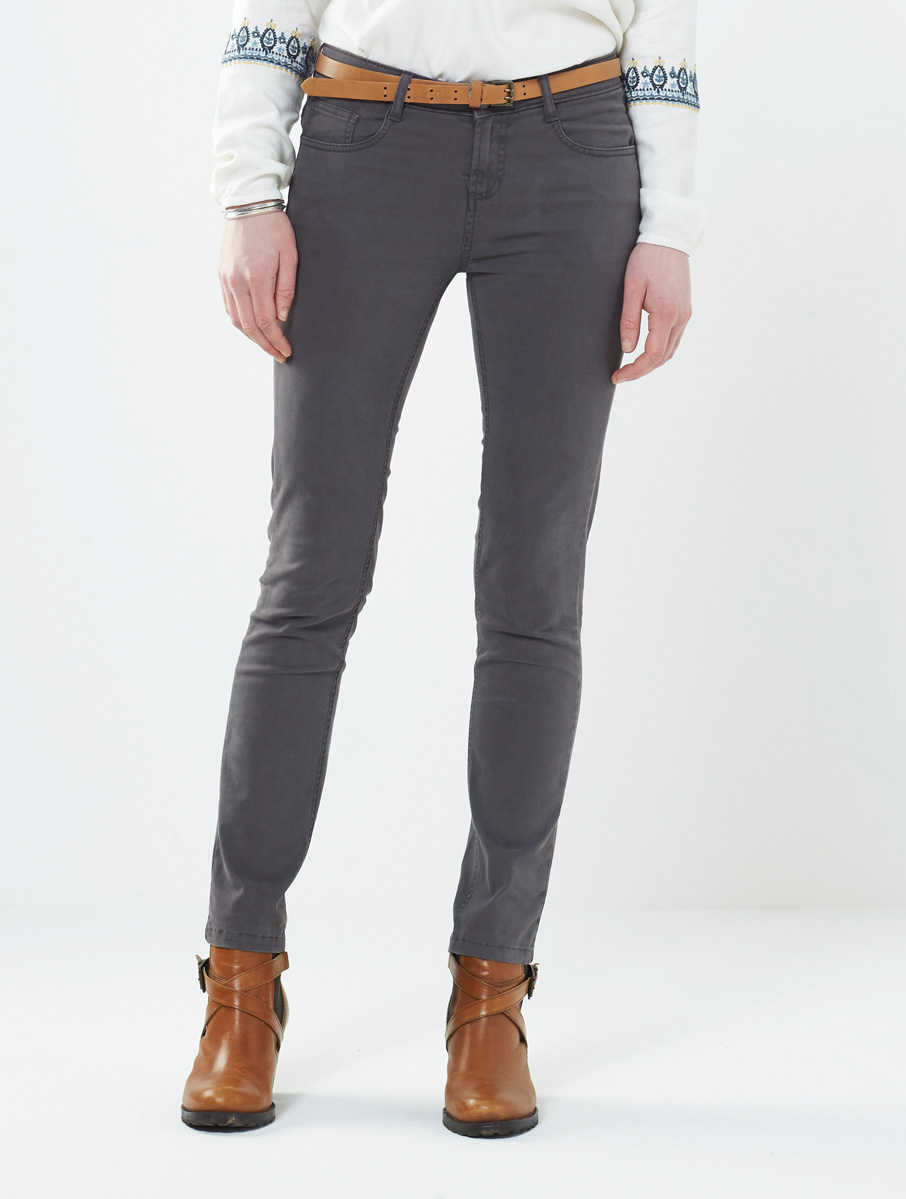 Coloured Jeans Grey