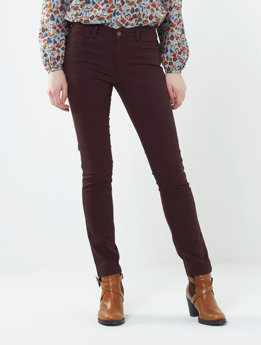 Coloured Jeans Redwood