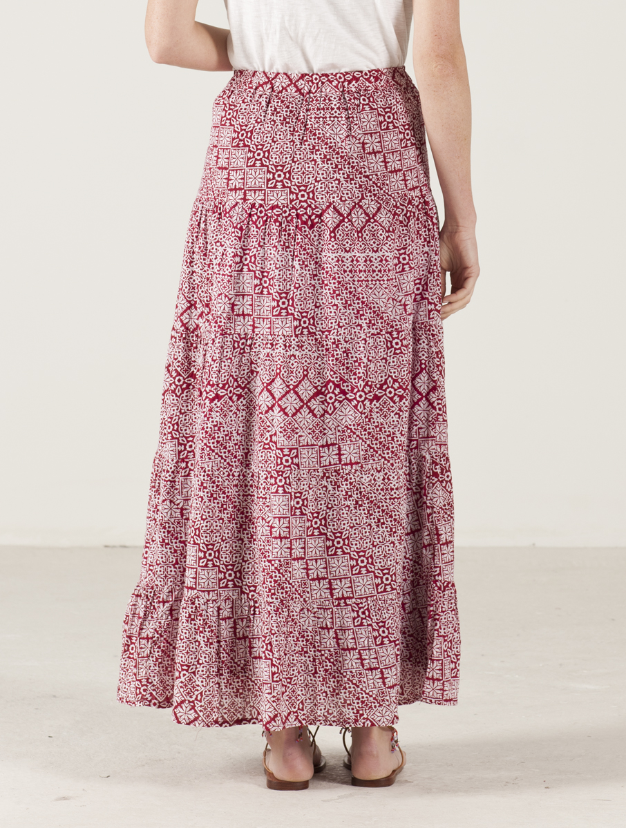 Nomads Clothing - Tiered Maxi Skirt