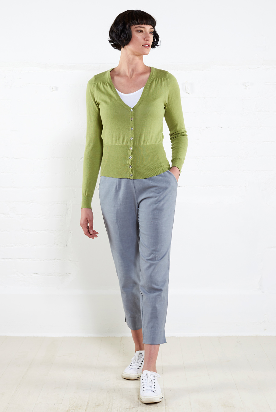 Fitted Cardi