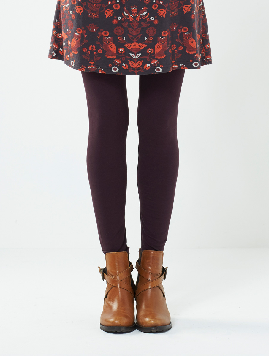 Plain Leggings Redwood