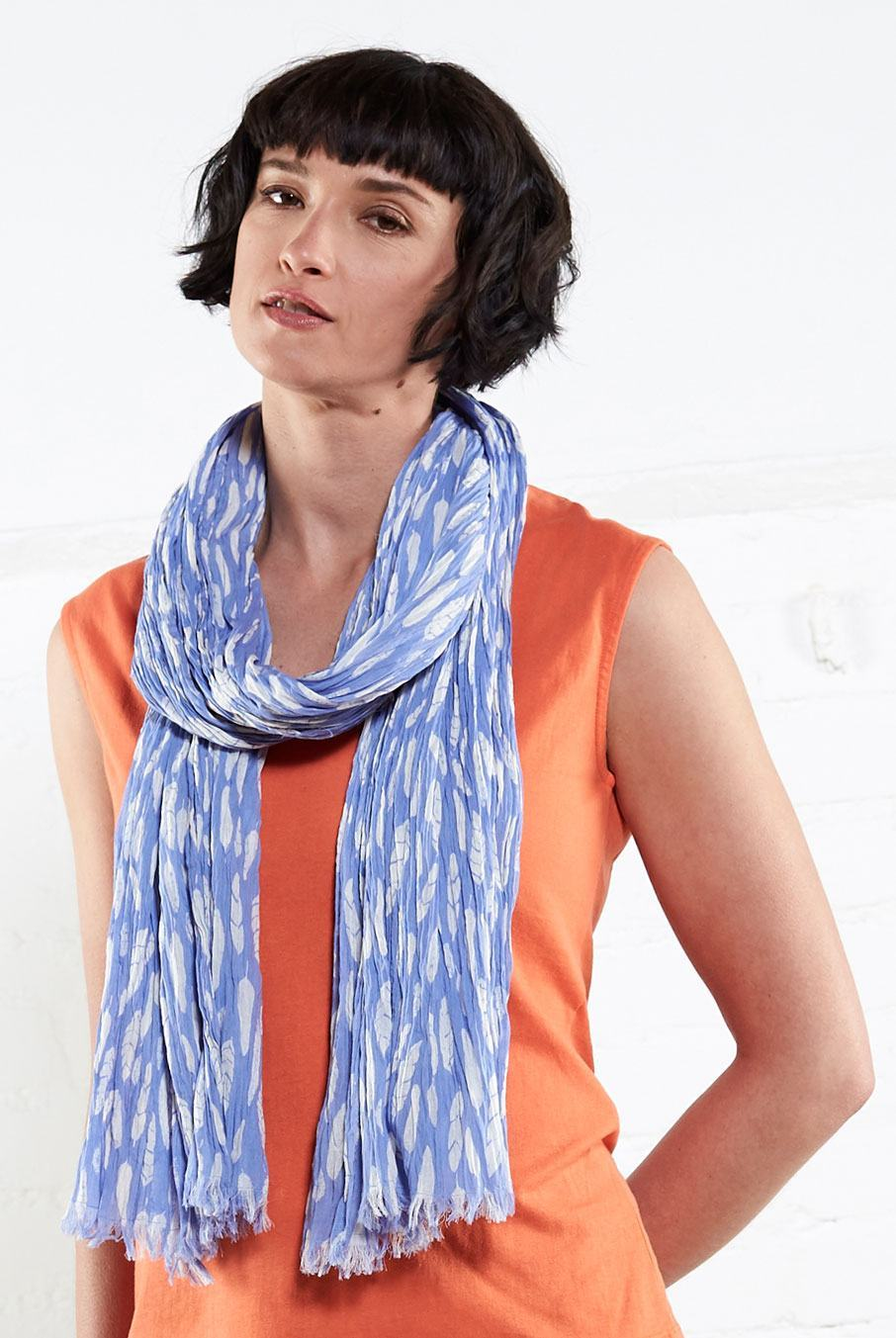 Printed Silhouette Scarf
