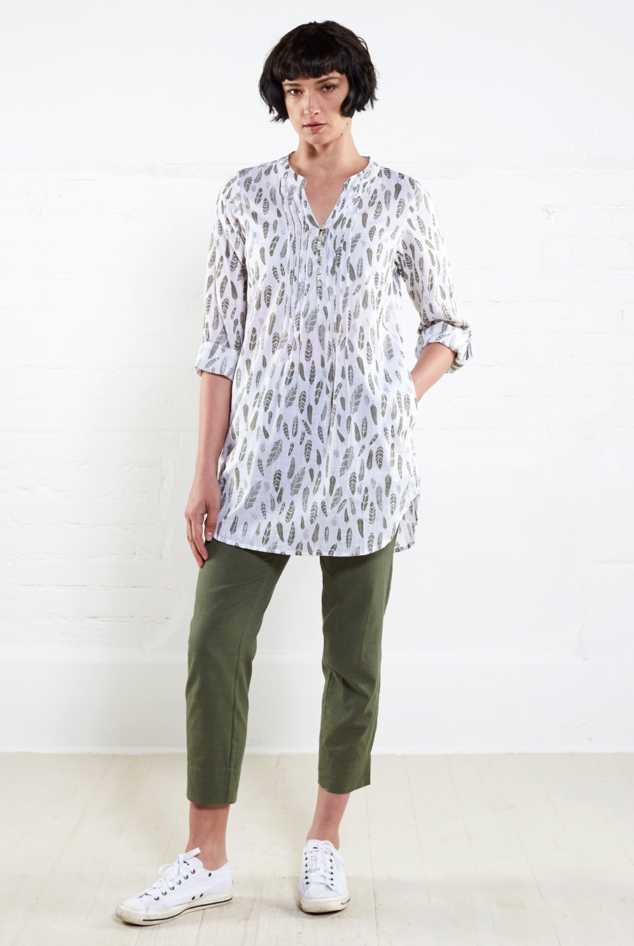 Printed Tunic Shirt