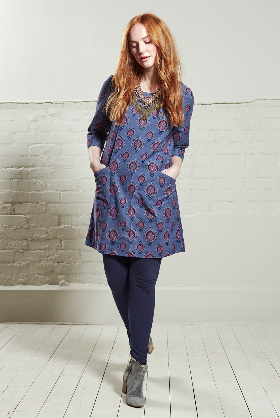 Teardrop Tunic Dress