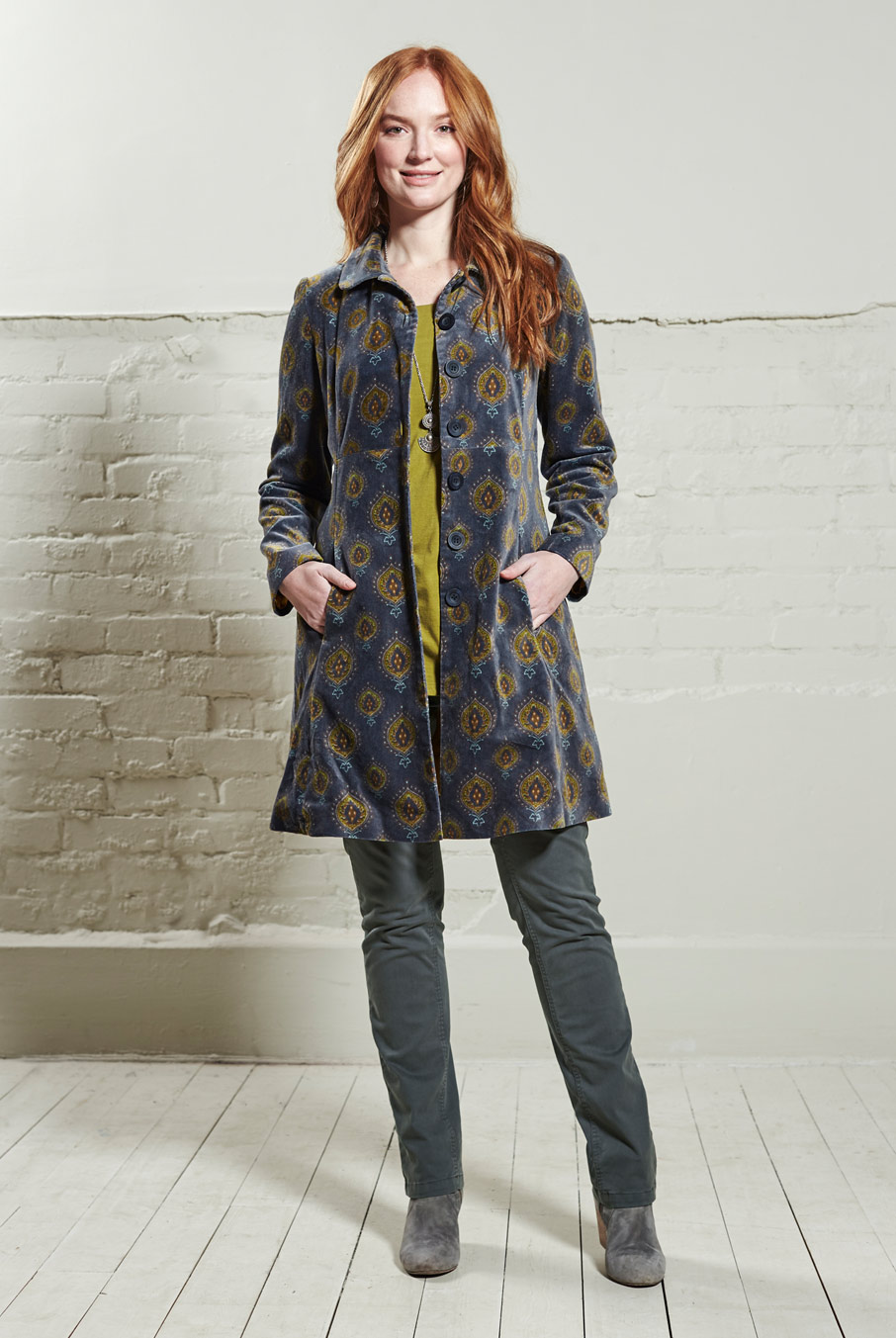 Fitted Teardrop Coat