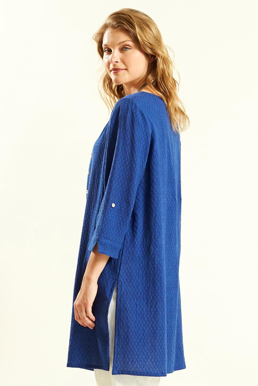 Button Front Tunic