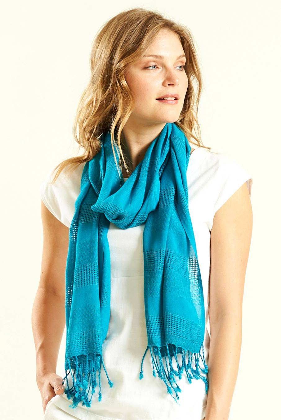 Plain Viscose Scarf