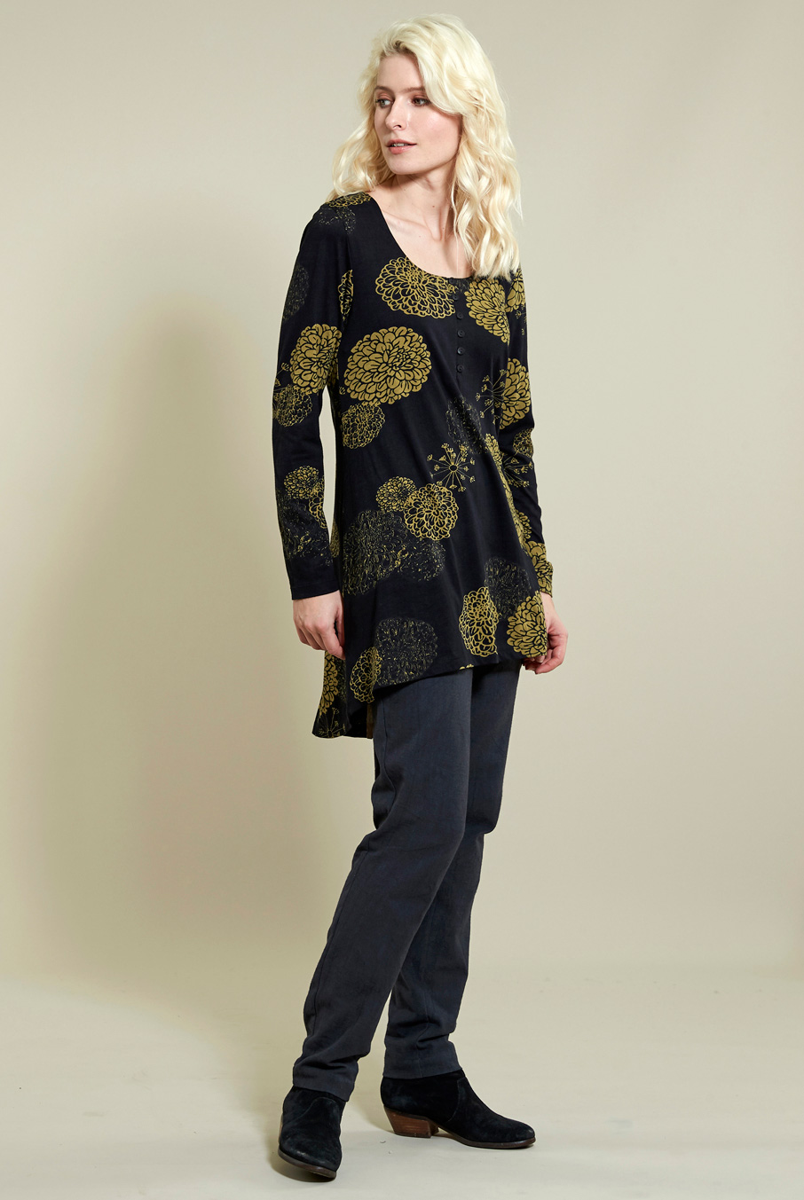 Bloom Swing Tunic