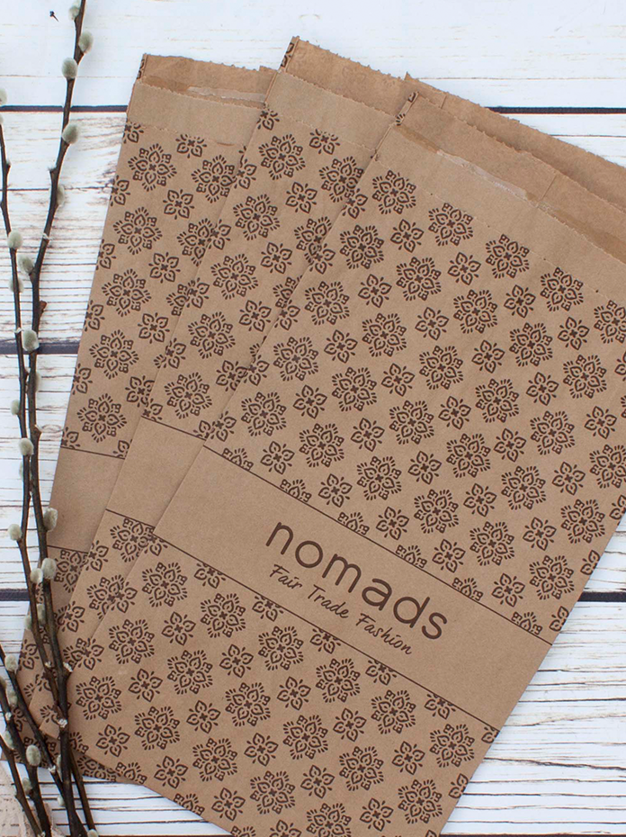 Brown paper fsc certified sustainable packaging