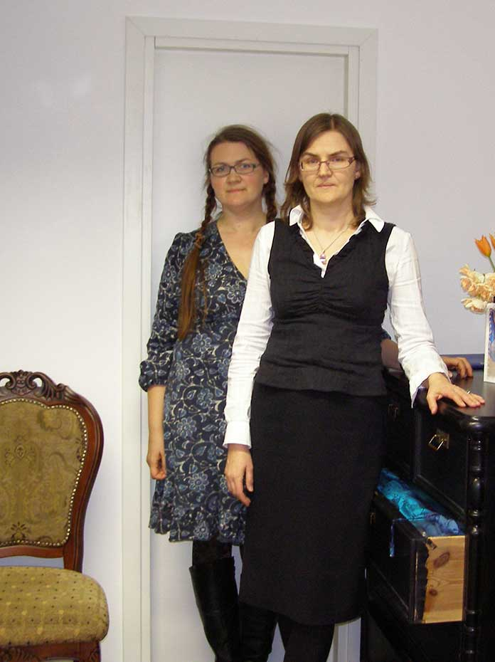 The owners of Ehe Mood in Estonia