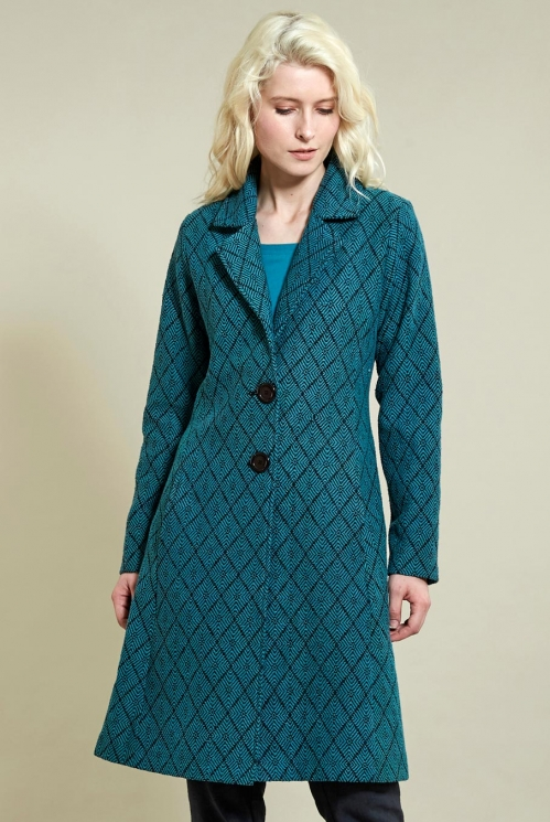 Pacific Fit And Flare Coat