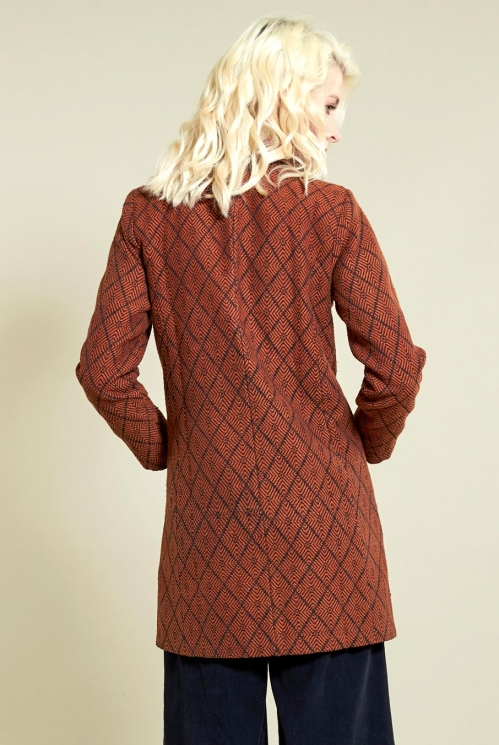 Sienna Aztec Short Coat
