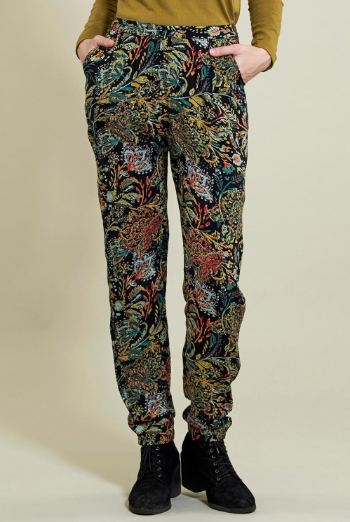 Coal Peg Trouser