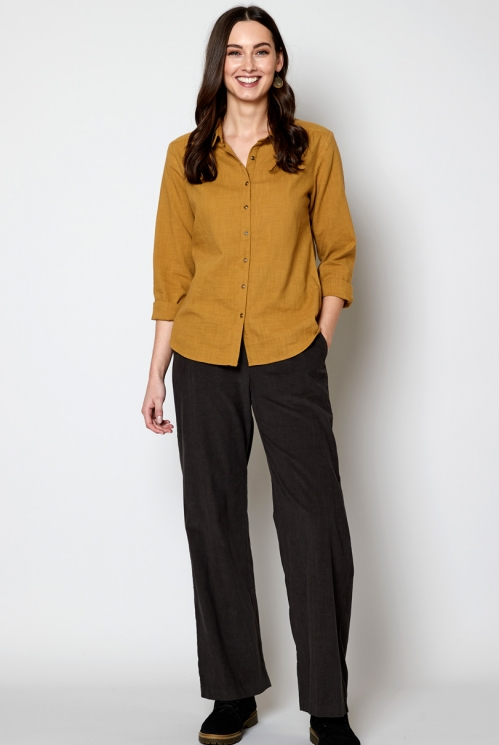 Tussock Ethically Made Sustainable Rounded Collar Shirt