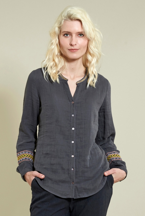 Granite Embroidery Shirt