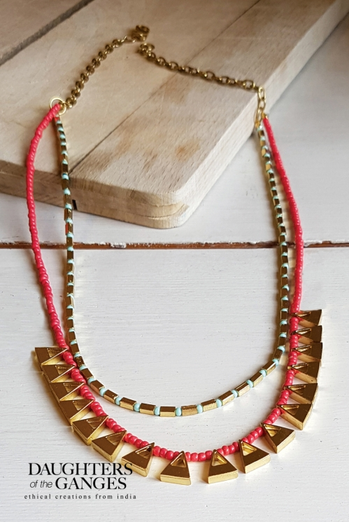 Guava Sundown Necklace
