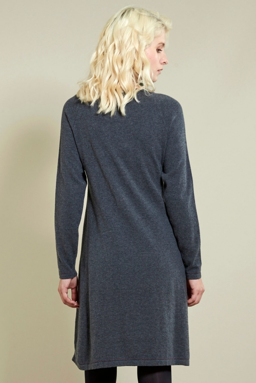 Granite Jacquard Tunic Dress (back)