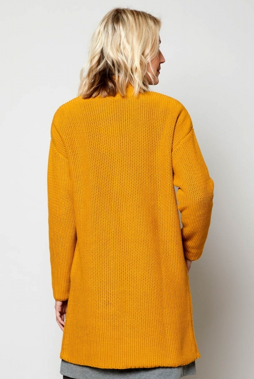 Harvest Ethically Made Sustainable Long Textured Stitch Cardigan