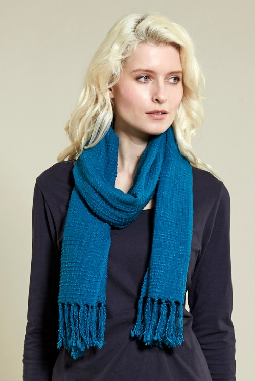 Pacific Plain Textured Scarf