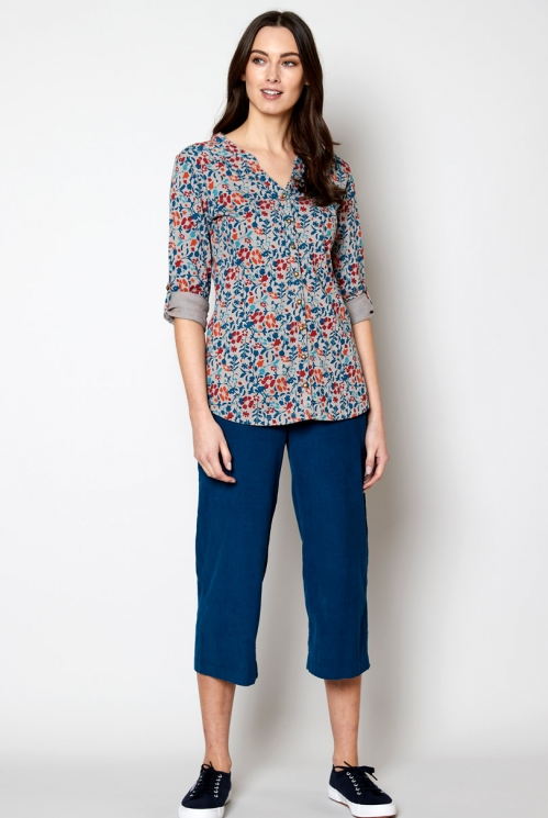Parchment Sustainable Fair Trade Cotton Jersey Shirt