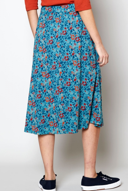 Cove Ethically Made Sustainable Midi Skirt