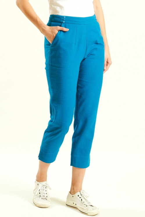 Aegean Slim Crop Trouser