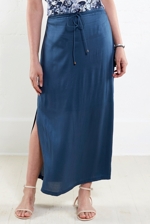 Atlantic Plain Long Skirt