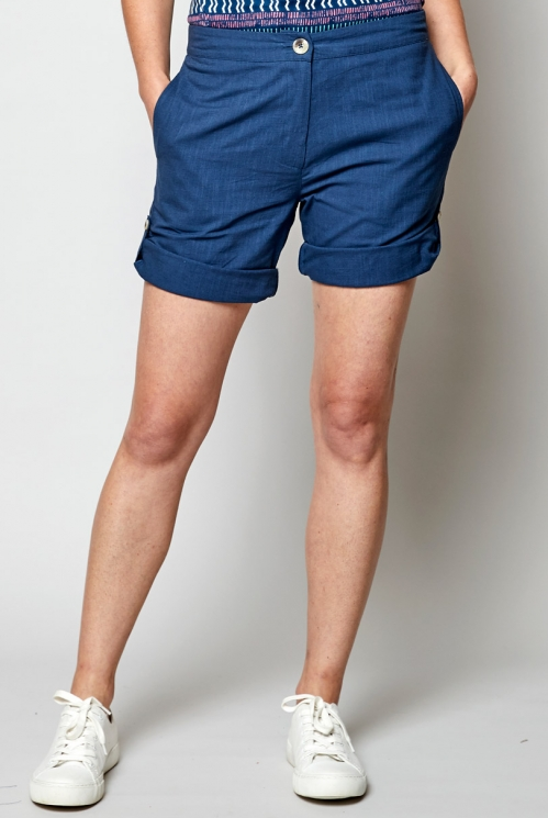 Fair Trade Voyage Textured Shorts