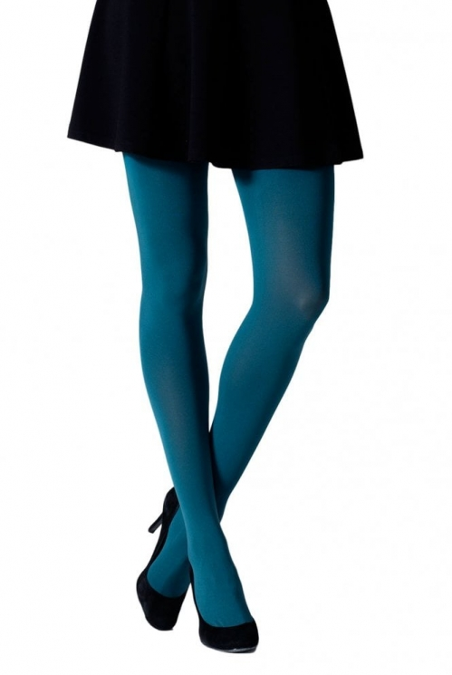 Teal 100 Denier Tights