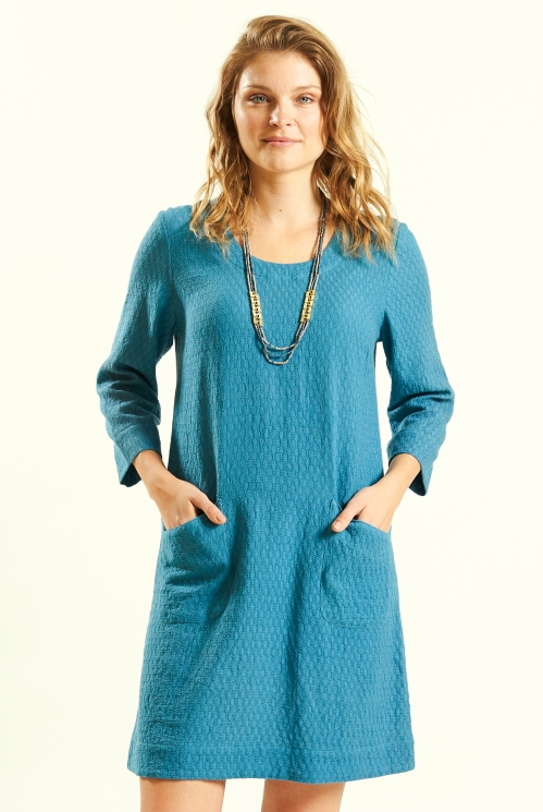 Lagoon Plain Tunic Dress
