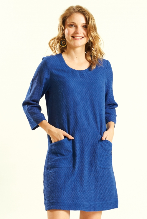Marine Plain Tunic Dress