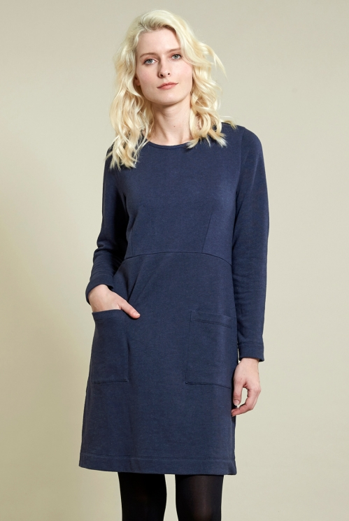 Denim Cosy Tunic Dress