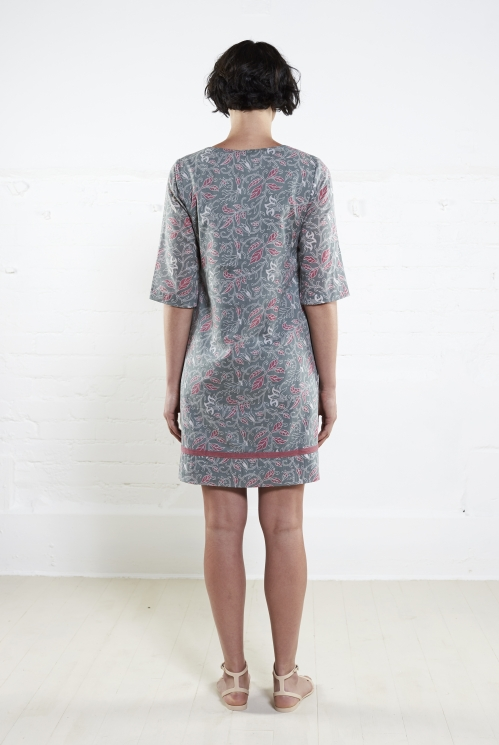 Flint Voile Tunic Dress