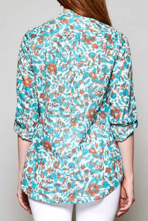 Sea Blue Sustainable Tresco Tunic Shirt