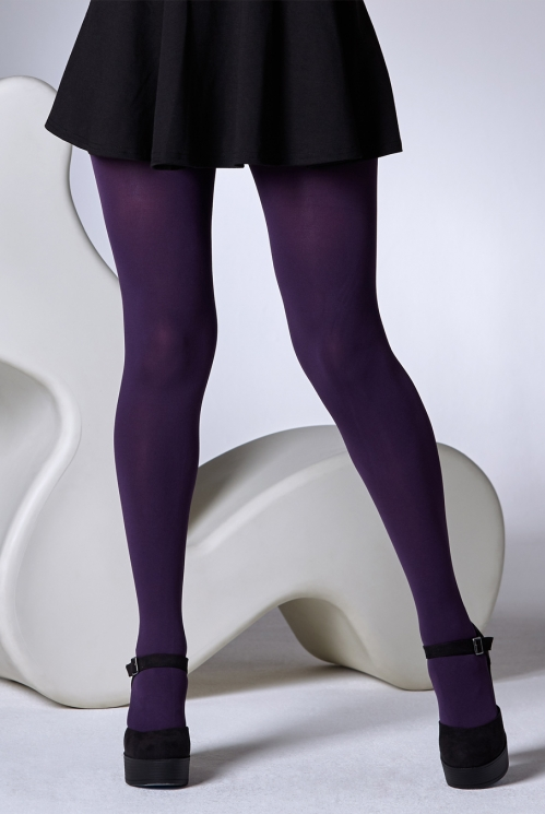 Damson 100 Denier Tights
