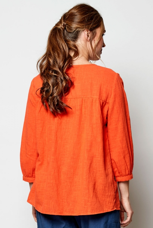 Mango Ethically Made Plain Floaty Top
