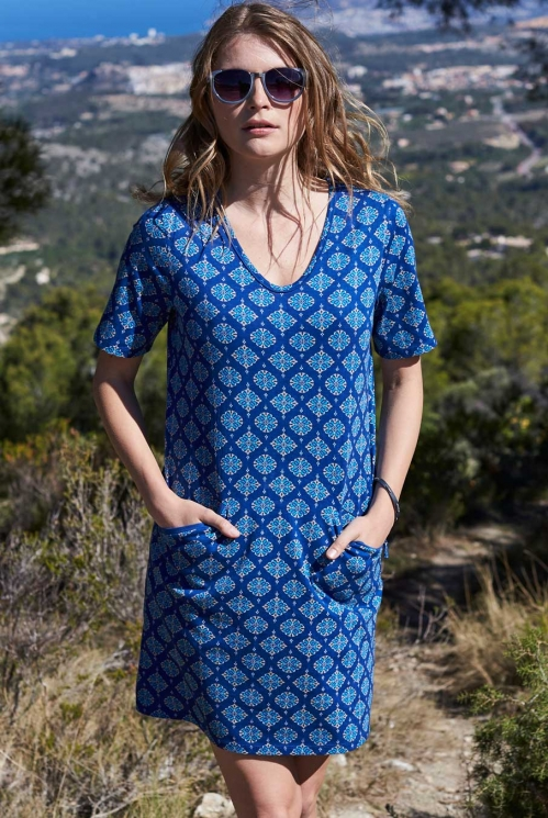 Indigo Winnow Tunic Dress