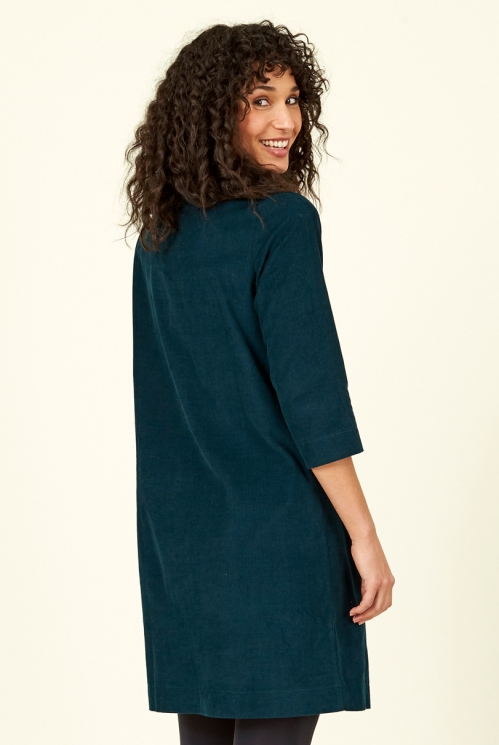 Fir Cord Tunic Dress
