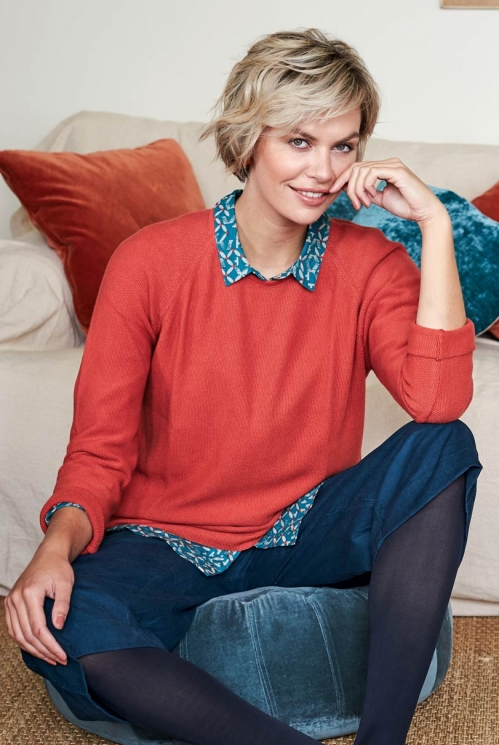 Koi Ethically Made Cosy Relaxed Fit Jumper