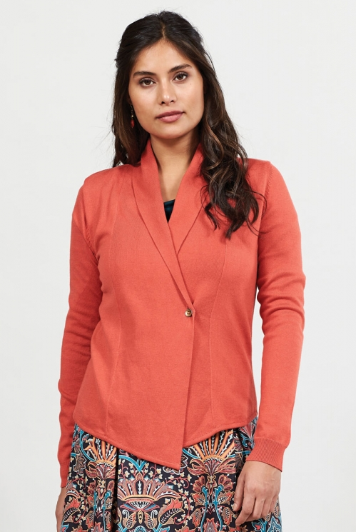 Koi Cosy Shawl Collar Cardigan