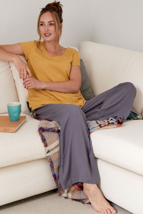 Aniseed Wide Leg Trousers