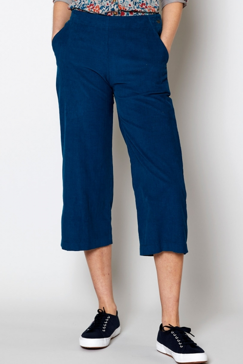 Harbour Cropped Needlecord Trouser