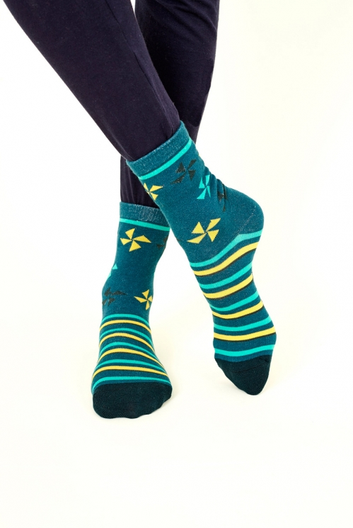 Ink Kite Organic Cotton Socks