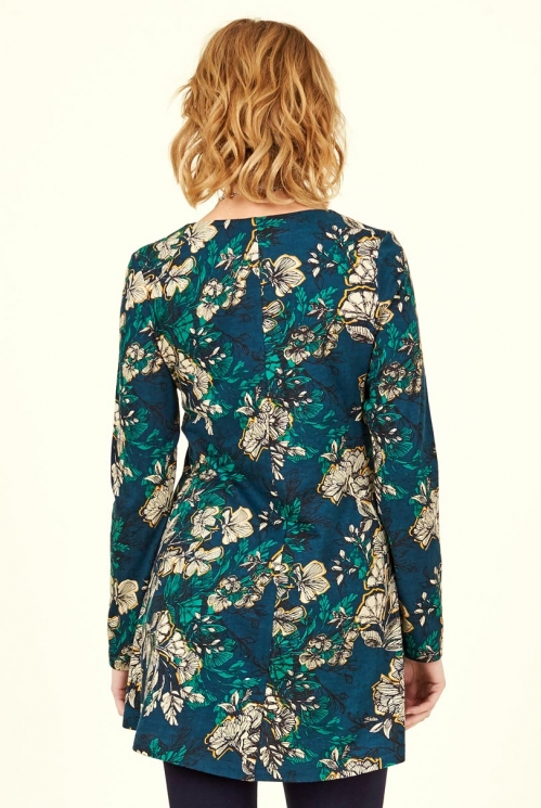 Biscay Organic Cotton Bold Floral Tunic