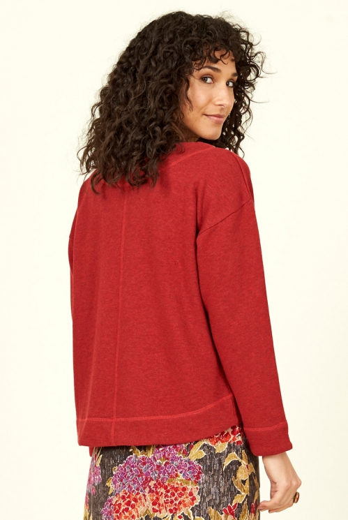 Holly Organic Cotton Boxy Top