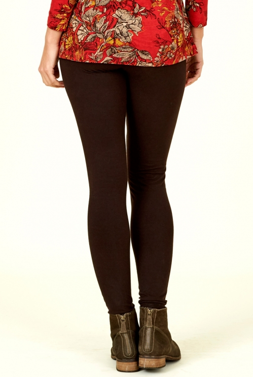 Chocolate Organic Cotton Leggings